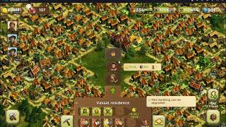 Anno: Build an Empire; How to Upgrade a Vassal Residence to Merchant's Residence