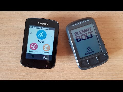 Element Bolt vs. Edge 820 Comparison