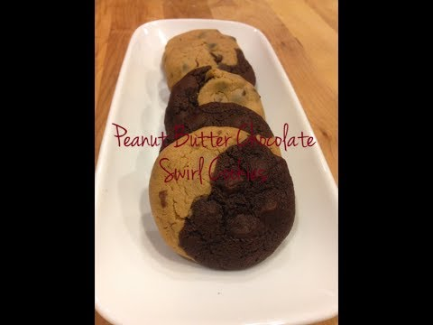 How to Make Peanut Butter Chocolate Swirl Cookies