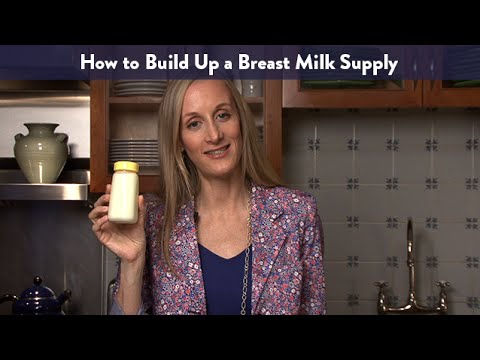 How to Build Up a Breast Milk Supply | CloudMom