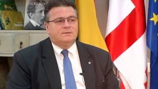 Linas Linkevičius talks to Georgian Public Broadcaster