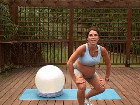 Pregnancy Exercises - Back and Butt