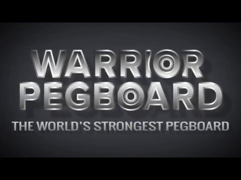 Warrior Pegboard - The World's Strongest Pegboard