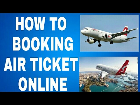 How to booking air ticket online | air india