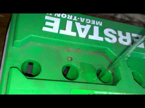 Adding Distilled Water to Car Battery Lead Acid