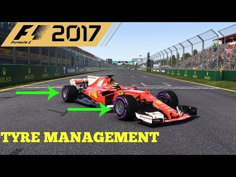 F1 2017 TIPS AND TRICKS FOR TYRE MANAGEMENT
