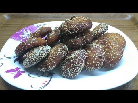 How to make Anarsa Recipe UP Bihar style  ,indian sweet recipe by Sunita's kitchen,
