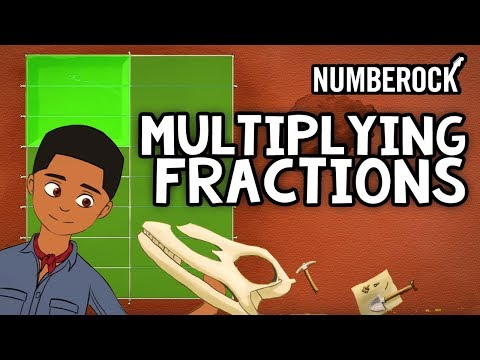 Multiplying Fractions Song: Rap Video by NUMBEROCK