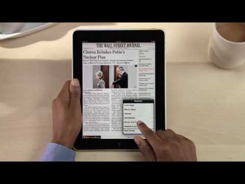 The Wall Street Journal for iPad