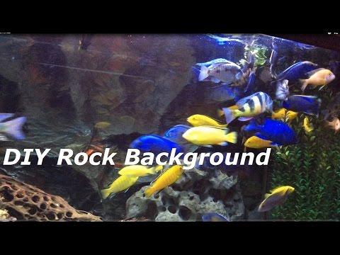 Aluminum Foil- Most Beautiful DIY Aquarium Background (Really)
