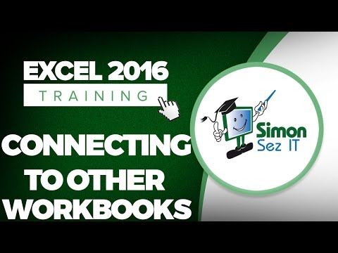How to Connect to Other Workbooks in Microsoft Excel 2016