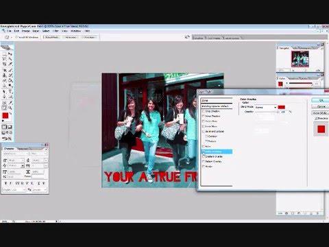 Blending in Photoshop CS2