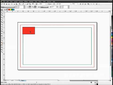 Creating A Full Bleed Business Card Template In CorelDRAW