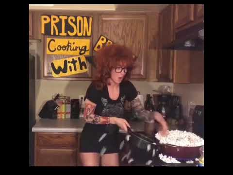 Prison cooking with Brenda-Butterscotch popcorn balls
