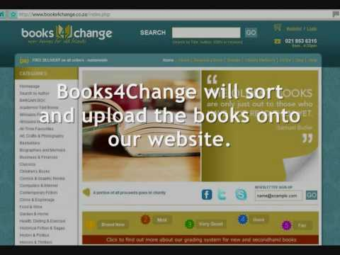How to raise money for your school, church or charity with Books4Change.co.za