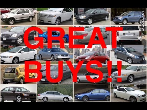 20 Reliable Used Cars for Under 10k!