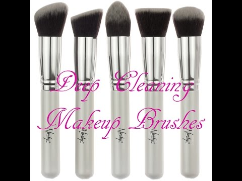 Cleaning Expensive Make Up Brushes