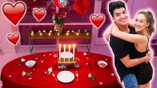 Couples Valentines Dinner Makeover! (DATE NIGHT)