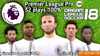 👑 Legend 👑 players profile dat in Dream League Soccer 2018