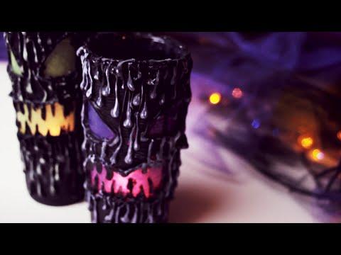 DIY: Scary Halloween Lantern - Home Decor