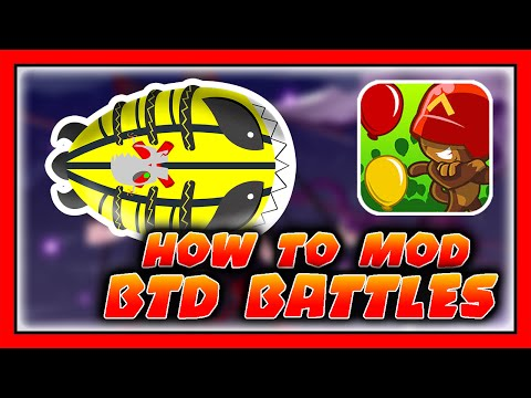 How to Mod BTD Battles Tutorial (v3.9 Update) Bloons TD Battles