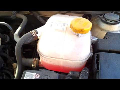 Where is the Coolant Expansion Tank in a Vauxhall Astra 04 09