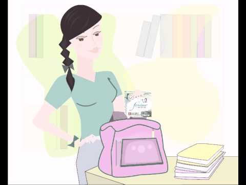 Femina Tampons: Myth 1 - As a teenager I should not use tampons