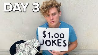 I Survived On $0.01 For 1 Week - Day 3