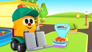 #Zeichentrickfilm auf Deutsch 🔔 LIFTYS LADEN 🍒Wir lernen das Obst 🍋#Kinder #Zeichentrickfilme