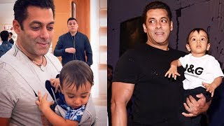 Salman Khan बनेगे बहोत प्यारे पिता   बच्चो को करते है प्यार