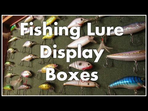 Fishing Lure Shadow Boxes