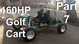 Honda CBR EZGO Golf Cart Long Travel Desert Mini Buggy DIY