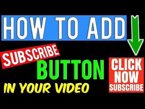ADD SUBSCRIBE BUTTON | YOUTUBE VIDEO में सब्सक्राइब बटन कैसे लगाएं | YOUTUBE CHANNEL TIPS• By SATYAM