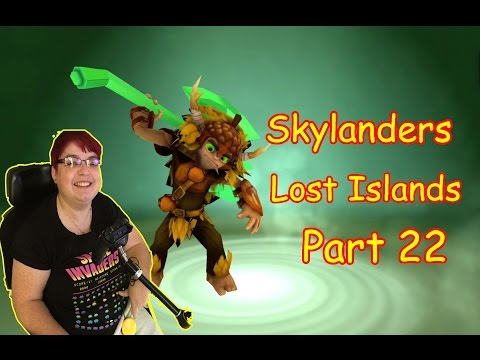Skylanders Lost Islands Part 22 on ipad