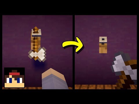 ✔ Minecraft PE: How To Make A Working Tool Rack | No Mods Or Addons!