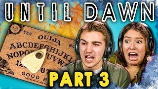 DEADLY SPIRITS! | UNTIL DAWN - Part 3 (React: Let