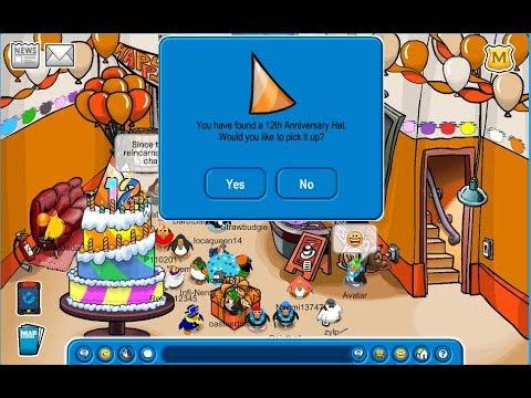 Club Penguin 12th Anniversary! Tipping the Iceberg - Club Penguin Rewritten