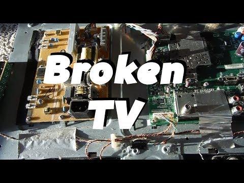 My Broken TV: Vizio Black Screen Of Death