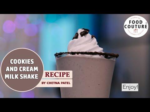 Cookies and Cream Milk Shake !!!!