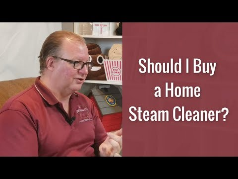 Should I Buy a Home Steam Cleaner? | Rendall's Cleaning