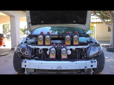 How to Change Your Transmission Fluid!!!