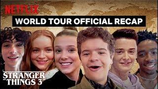 Download Stranger Things 3 Cast World Tour - Best Moments | Netflix Video