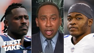 Stephen A. reacts to an NFL executive comparing Amari Cooper to Antonio Brown   First Take