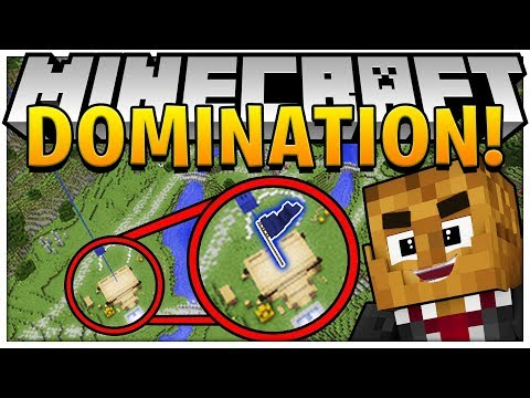 BRAND NEW MINECRAFT MODDED MINIGAME -TECH GUNS DOMINATION w/ OP WEAPONS MOD