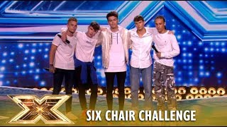 Download Is This New Boy Band ″Vibe Five″ The BIRTH of NEXT One Direction? | The X Factor UK 2018 Video