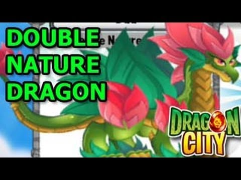 Double Nature Dragon in Dragon City Mobile Review
