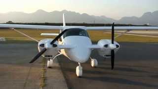 Jabiru 3300, 120 HP direct drive aircraft engine, RANS S19