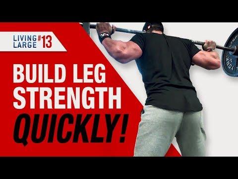 Beginner Leg Workout FOR MASS! (The 10X5 TENSION WORKOUT!)