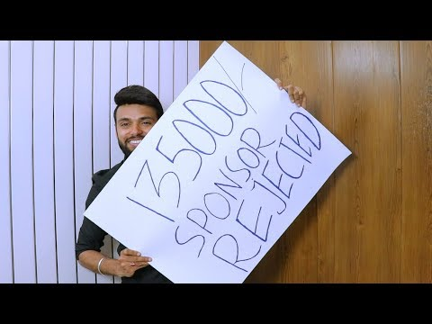 Rejected 1,35,000Rs In Sponsorship's | Be Ghent | Rishi Arora