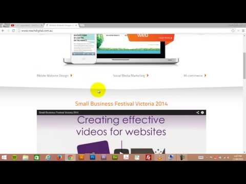 How to upload video to YouTube 2014